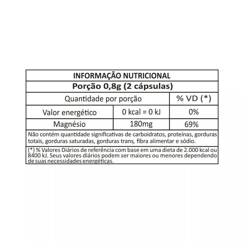 Magnésio L-Treonato 120 Cápsulas 300mg - Meissen