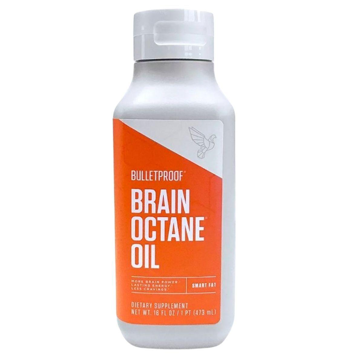 MCT Brain Octane Oil 473ml BulletProof - Óleo de Coco Concentrado