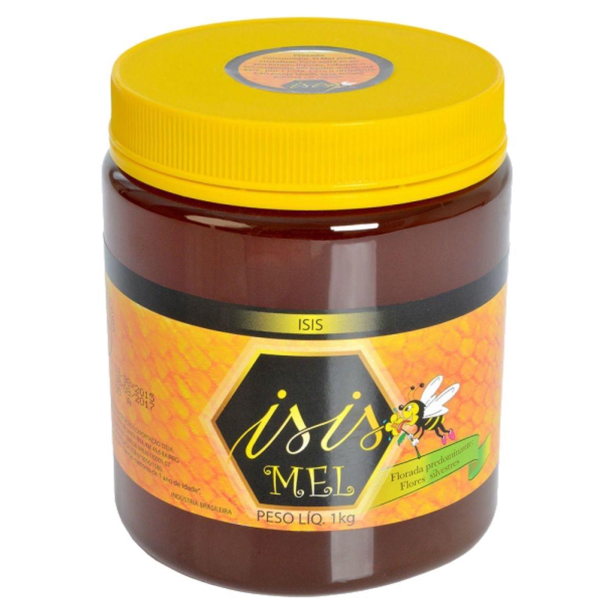 Mel De Abelha Flores Silvestres 1kg - Isis Mel