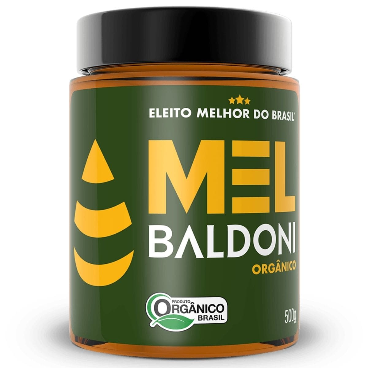 Mel de Abelha Orgânico Pote 500g - Baldoni
