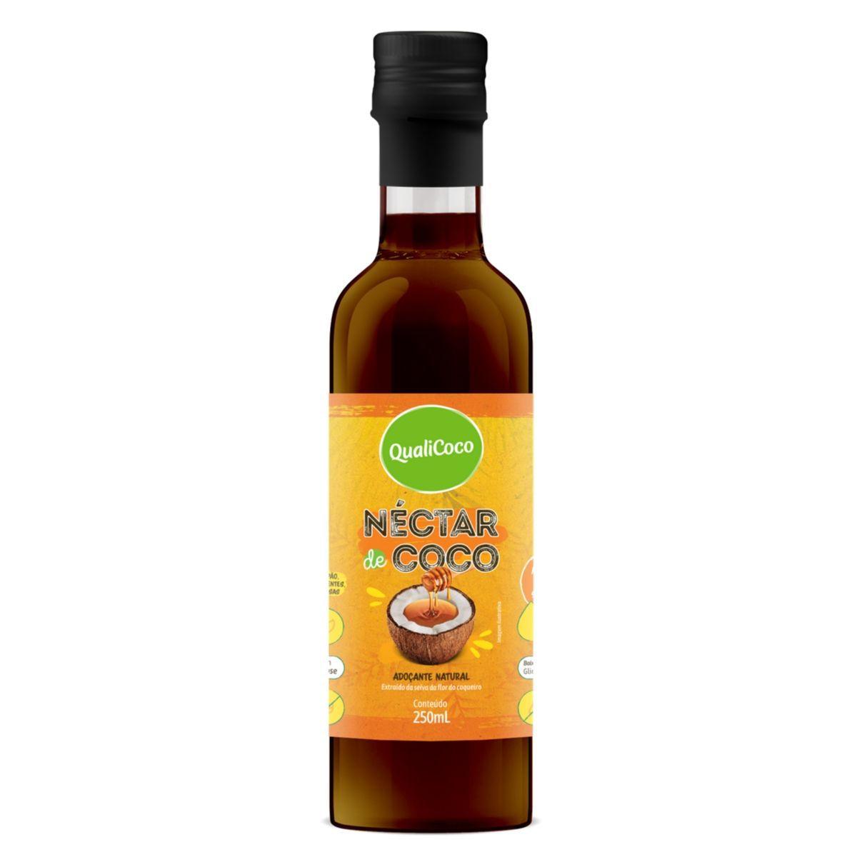 Néctar de Coco Adoçante Natural 250ml - QualiCoco