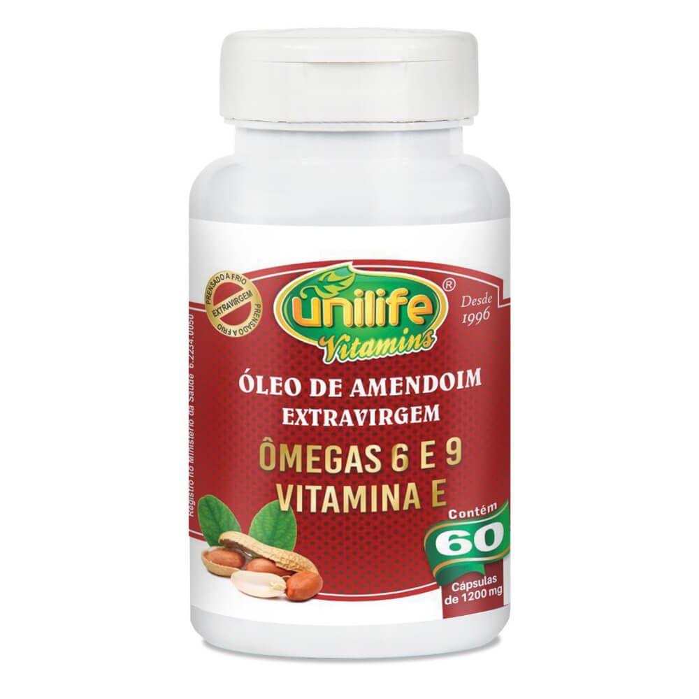 Óleo de Amendoim Extra Virgem 60 Cáps - Unilife