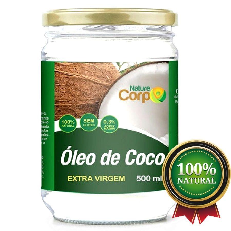 15 Óleo De Côco Extra Virgem 500 ml - Prensado a Frio