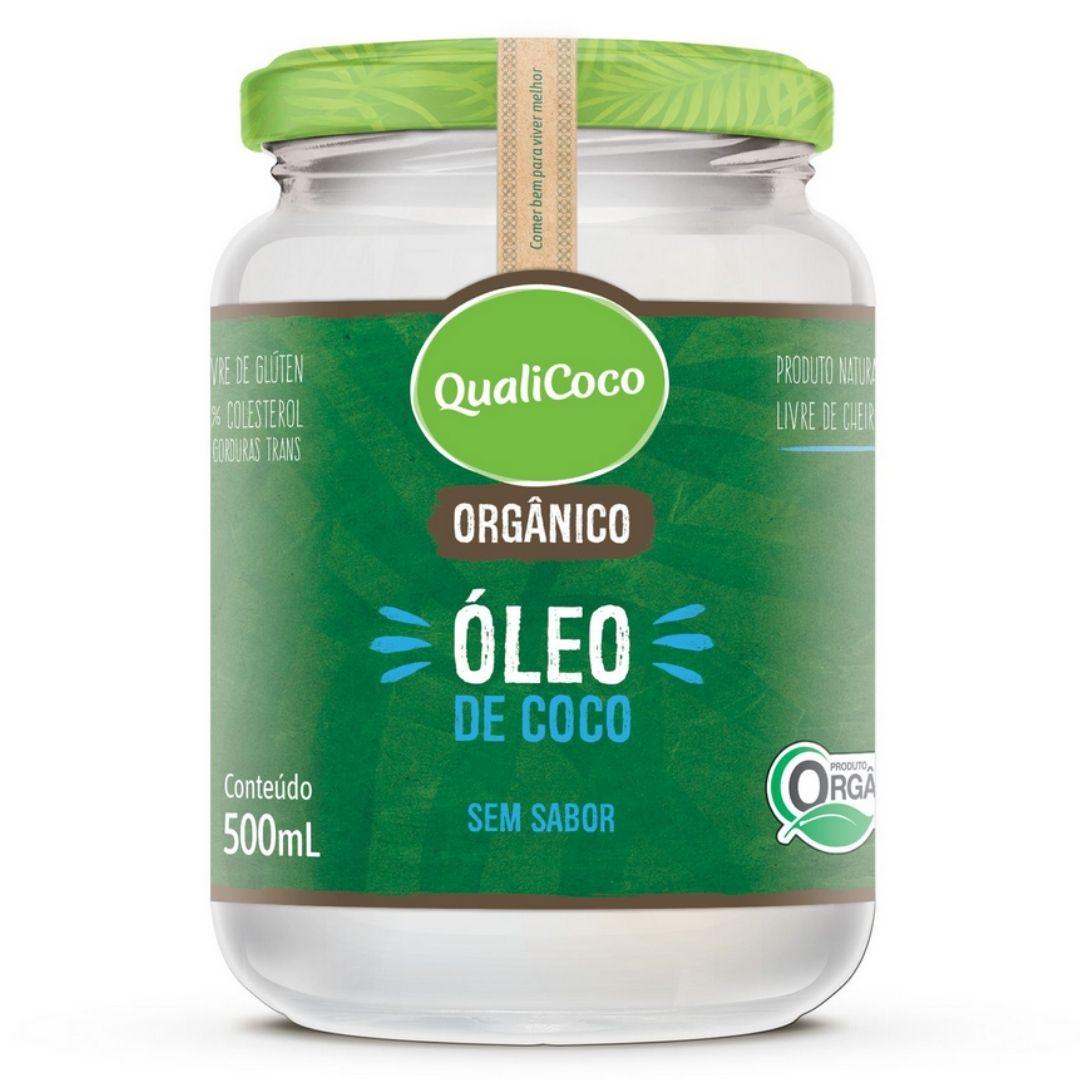 Óleo De Coco Sem Sabor E Sem Cheiro Orgânico 500ml - QualiCoco
