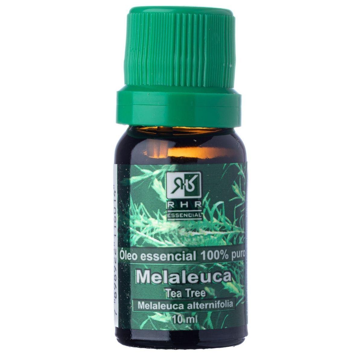 Oleo Essencial Melaleuca Puro Tea Tree 10ml - 100% Puro e Natural
