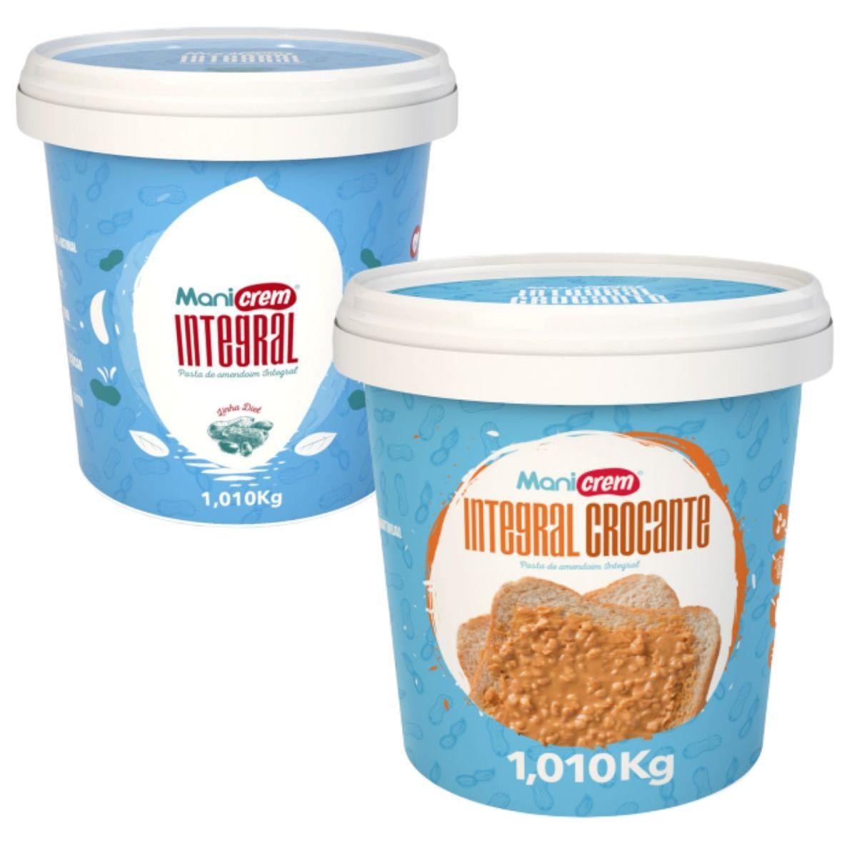 Pasta De Amendoim Manicrem Diet 1kg - Manibi