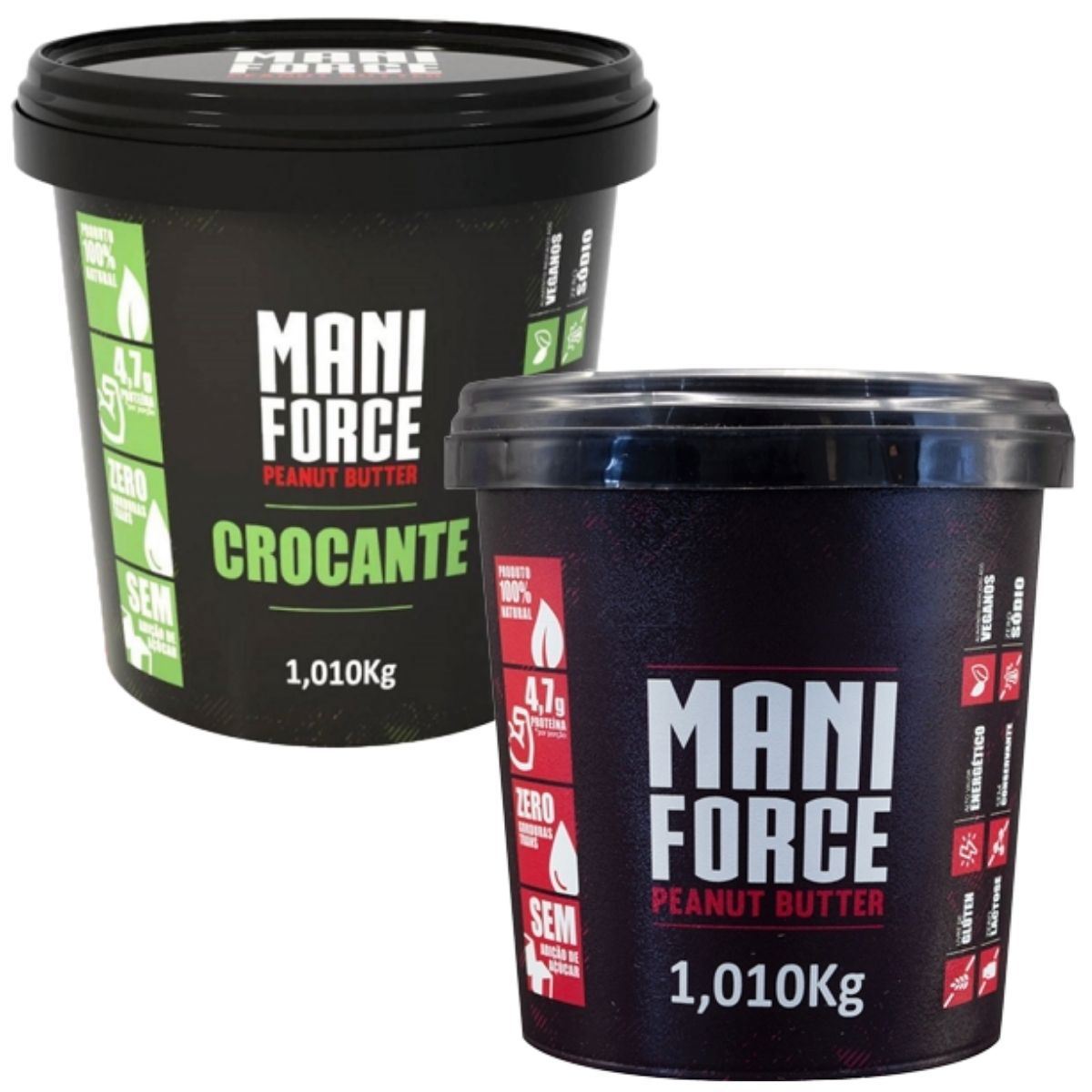 Pasta De Amendoim Maniforce 1kg - Manibi