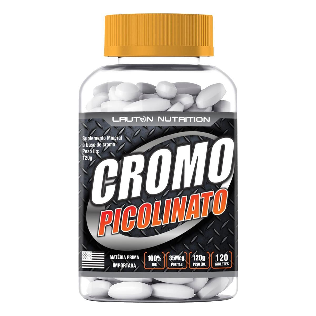 Picolinato de Cromo Lauton Nutrition - 120 Comp 1000mg