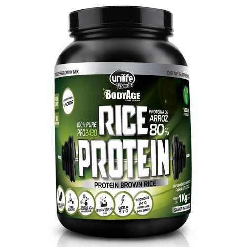 Rice Protein (Proteína de arroz) 100% Pura Whey Vegano 1 Kg