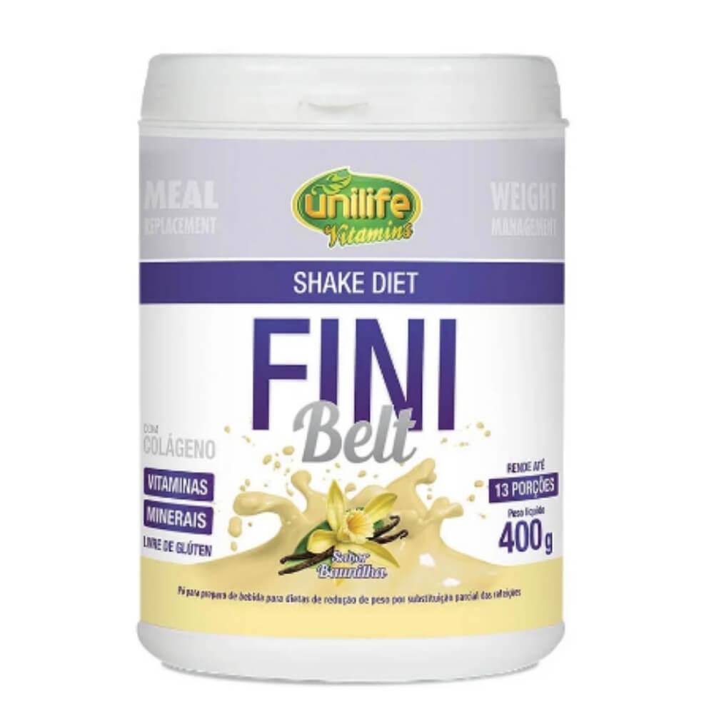 Shake Diet Fini Belt 400g Sabor Baunilha - Unilife