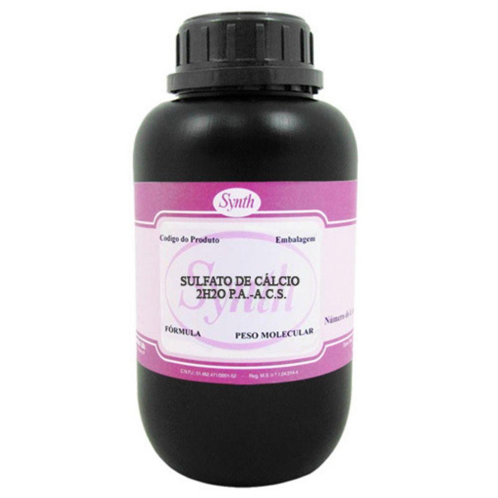 Sulfato De Cálcio PA 500g - C/ Laudo Synth