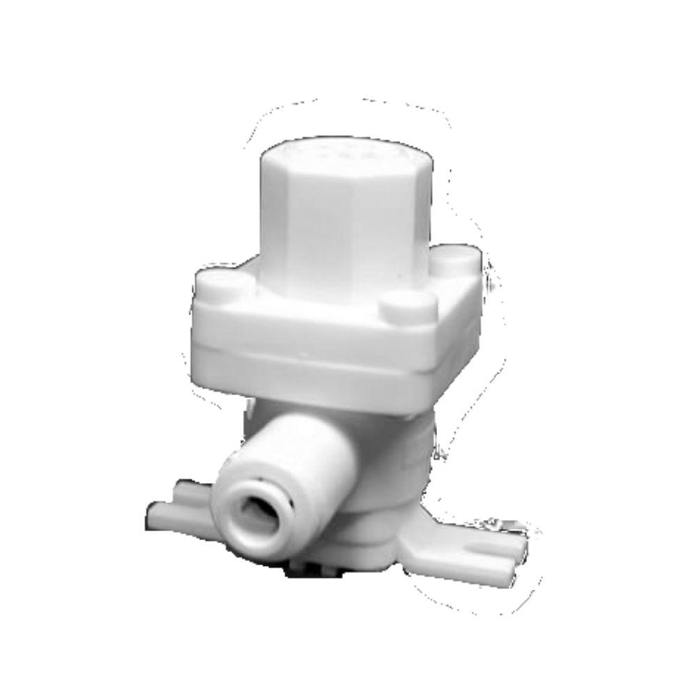 Válvula Reguladora De Pressão 1/4 x 1/4 Branca - Top Life