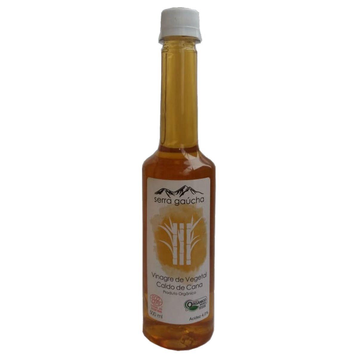 Vinagre Caldo de Cana Orgânico Serra Gaúcha Acidez 4% - 500ml