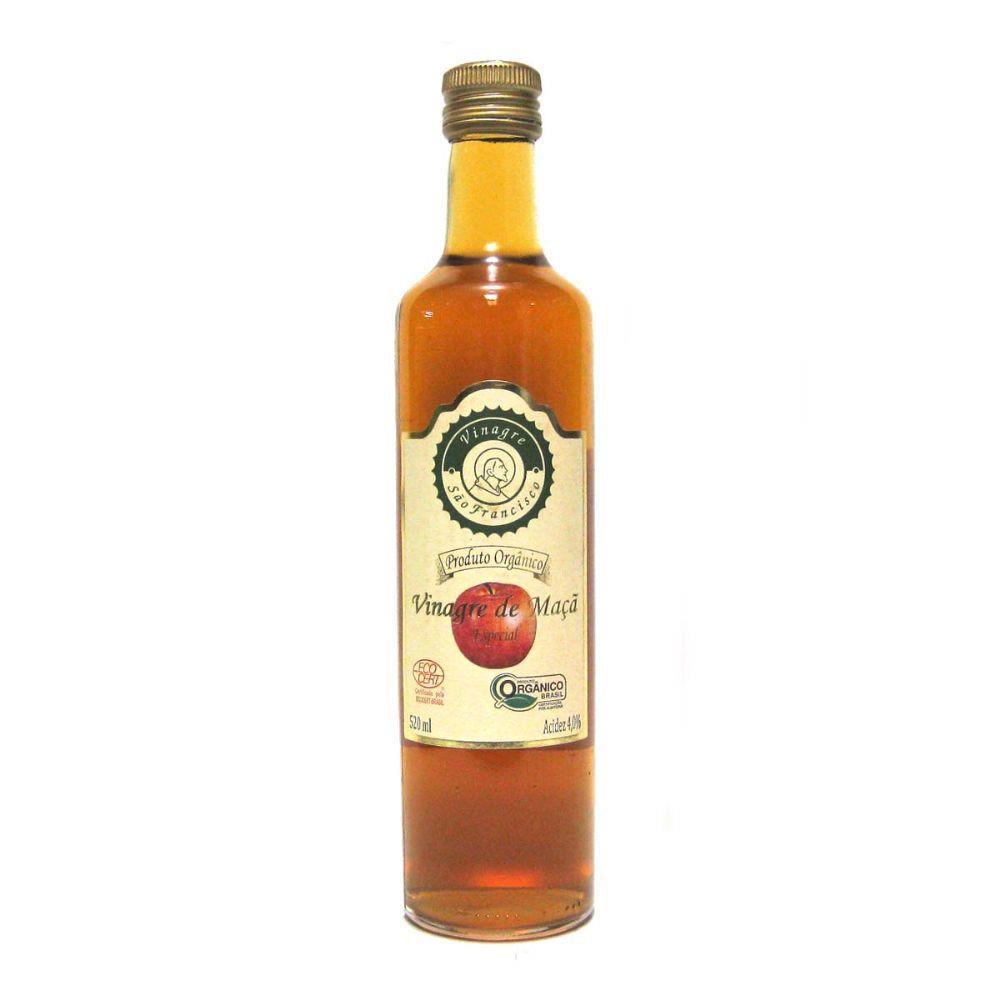 Vinagre Organico São Francisco 500ml Acidez 4%