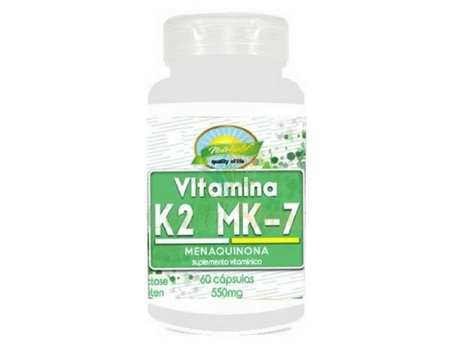 Vitamina K2 Menaquinona Mk7 60 Cps