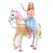 Barbie Aventura das Princesas Com Cavalo GML79 Mattel