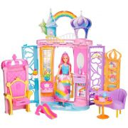 Barbie Castelo de Arco-Íris Dreamtopia FRB15 Mattel