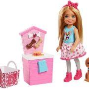 Barbie Chelsea Barraca Lanches Pets FHP67  Mattel