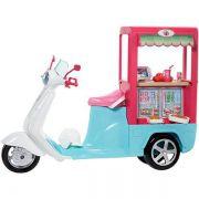 Barbie Cozinhando e Criando Scooter Lanchinhos FHR08 Mattel