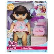 Boneca Baby Alive Fraldinha MágicaMorena B6052 Hasbro