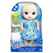 Baby Alive Hora do Xixi Loira E0385 Hasbro
