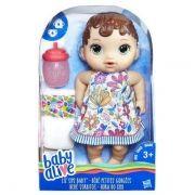 Baby Alive Hora do Xixi Morena E0499 - Hasbro
