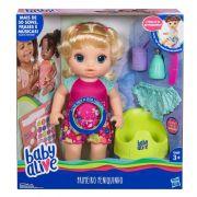 Boneca Baby Alive - Primeiro Peniquinho Loira E0609 - Hasbro