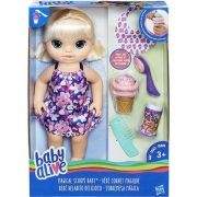 Baby Alive Sobremesa Mágica Loira C1090 Hasbro