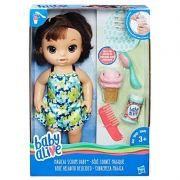 Baby Alive Sobremesa Mágica Morena C1089 Hasbro