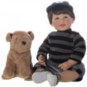 Boneca Bebê Reborn Laura Doll Dudu