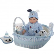 Boneca Bebê Reborn Paradise Galleries Finn & Sparky