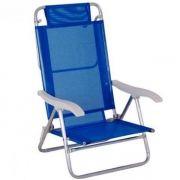 Cadeira Reclinável Sol de Verão 6 Posições Ref 2105Mor