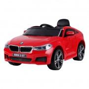Carro Elétrico BMW 6 GT Com Controle Remoto 12V Vermelho Belfix