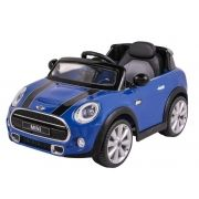 Carro Elétrico Mini Cooper Azul 12V 926600 Belfix
