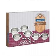 Conjunto Para Servir Para Sobremesa 12 Peças Inox 64400/730 Tramontina
