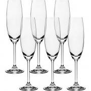 Jogo 12 Taças Champagne Cristal Ecol 220ml Bohemia 56079