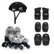 Kit Roller Cinza Tamanho M 34-37 Ref 40600104Mor
