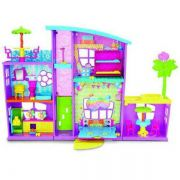 Mega Casa De Surpresas Polly Dnb25 Mattel