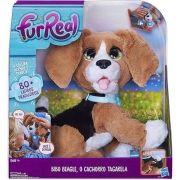 Pelúcia Furreal Friends Bibo Beagle: O Cachorro Tagarela Hasbro