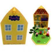 Peppa Pig Casa Com Jardim Dtc 4206 DTC