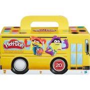 Play-Doh Cores com 20 Potes de Massa Modelar A7924 Hasbro