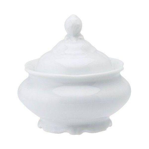 Açucareiro 300ml Pomerode Branco Porcelana Schmidt