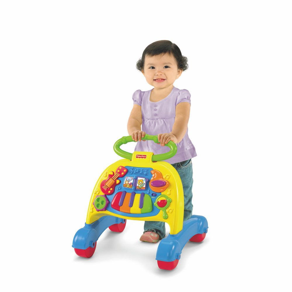 Andador Fisher Price Mattel Brilliant Basics V3254 Musical com Atividades Mattel