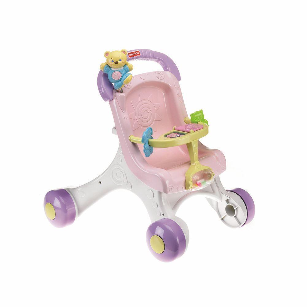 Andador Meu Primeiro Carrinho De Bebê M9523 Fisher Price