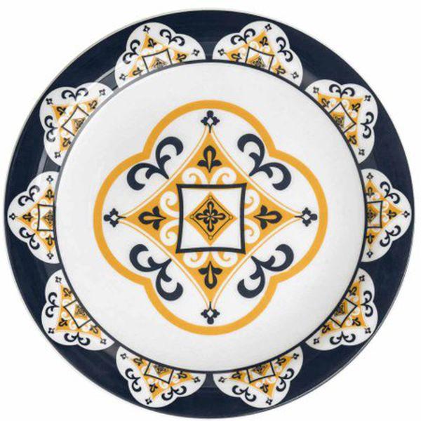 Aparelho De Jantar e Chá Floreal São Luis 30 Peças Oxford