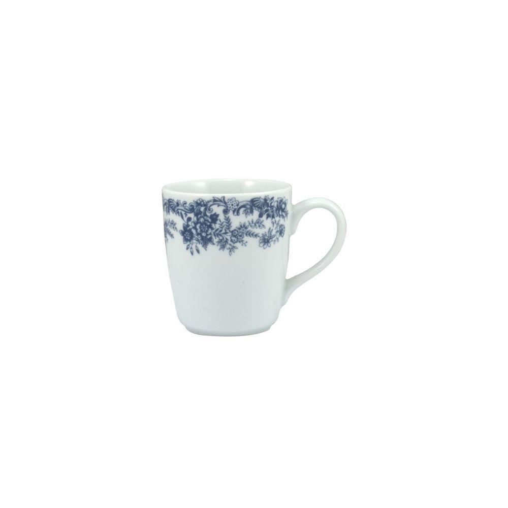 Aparelho de Jantar Paisagem Azul 24 Peças Porcelana Schmidt