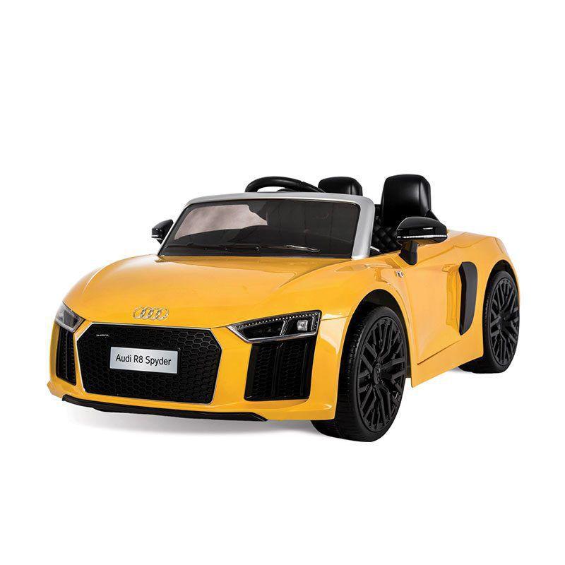 Audi R8 Spyder (Amarelo) R/C Eletrica 12v Bandeirante