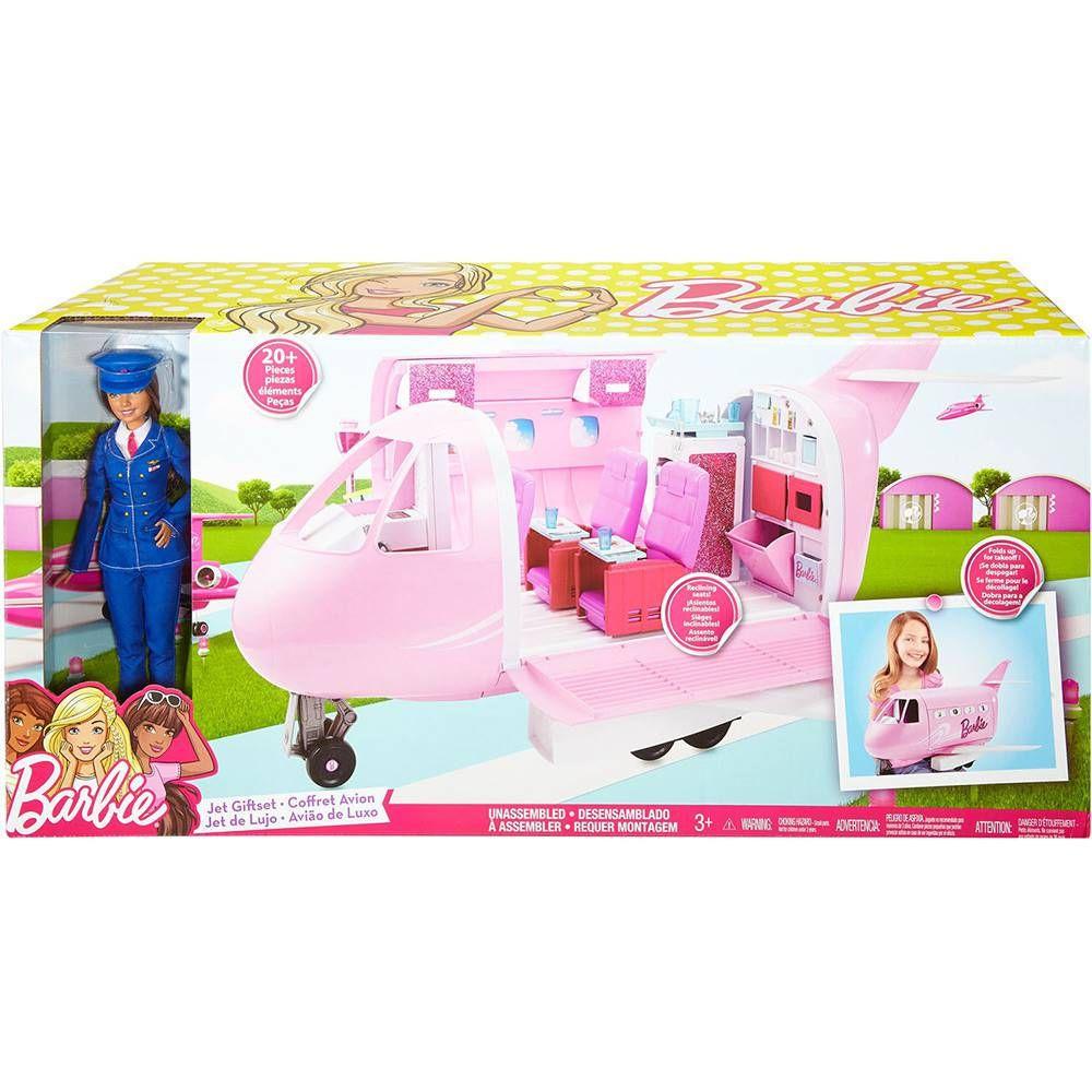 Avião de Luxo Barbie FNF09 Mattel