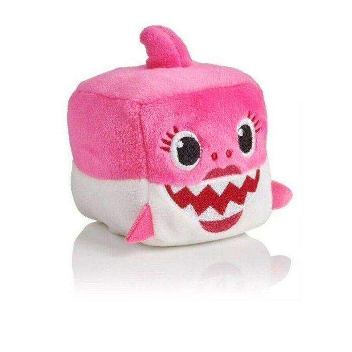 Baby Shark Pelúcia Musical Cubo 9 cm Sortido 39258 Toyng
