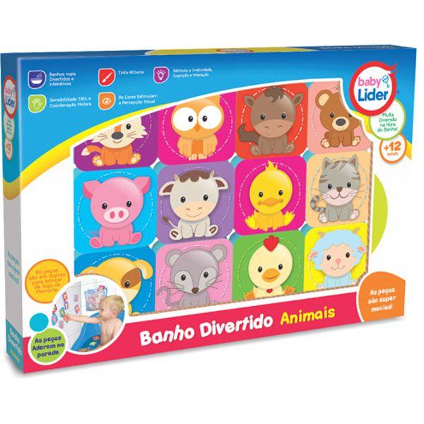 Banho Divertido Animais 5692 Lider
